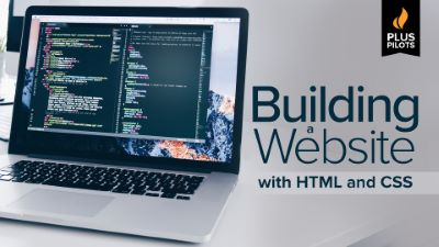 Plus Pilots: Building a Website with HTML and CSS