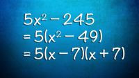 Quadratic Equations-Factoring