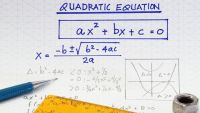 Quadratic Equations-The Quadratic Formula