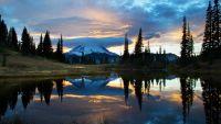 Mount Saint Helens, Lassen Volcanic, Rainier