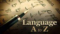 Language A to Z