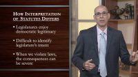 Touchstones of Statutory Interpretation
