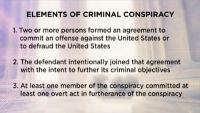 Common Issues in Conspiracy Cases