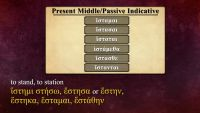 Regular -?? Verbs in the Middle/Passive