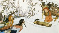 """Cinderella"" II: Baba Yaga and Goddesses"