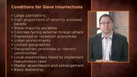 Slave Insurrections in the 18th Century