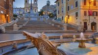 Above and Beyond the Spanish Steps