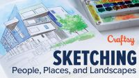Sketching People, Places, and Landscapes