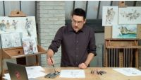 Module 5 Lesson 3: Brushwork & Hatching