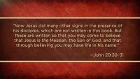 Jesus as the Divine Word in John