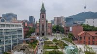 Two Churches in Seoul, Korea