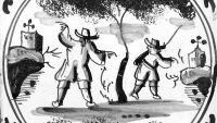 1676-Van Leeuwenhoek's Microscope