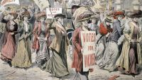 1893-First Women Voters in New Zealand