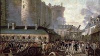 July 14th-Storming the Bastille