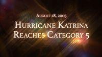 August 28, 2005: Hurricane Katrina Reaches Category 5