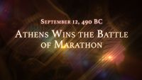 September 12, 490 BC: Athens Wins the Battle of Marathon
