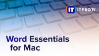 Microsoft Word Essentials for Mac