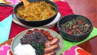 Brazil and West Africa: Black Bean Stew