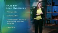 Generating Hypotheses and Theories