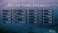 Hebrew's Hollow Verbs