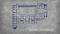 Nero's Domus Transitoria at Rome