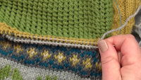 Module 4 - Lesson 6: Stranded Colorwork & Finishing