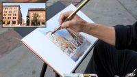 Location Sketching: Streetscape