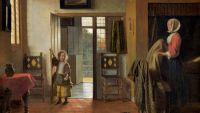 Pieter de Hooch and Quietude