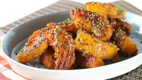 Kabocha Squash with Miso Honey Glaze
