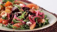 Beet Salad with Grapefruit and Vanilla
