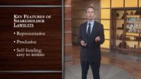Shareholder Lawsuits: Goals and Limitations