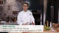 Making Roast Beef and Potato Gratin