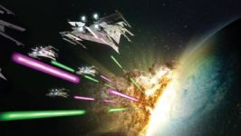 Space Battles and Energy Weapons: Star Wars